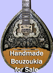 Handmade Bouzoukia for Sale.  Click here for details.