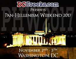 DCGreeks.com, in association with local and national Hellenic organizations, invites Greek-American young adults from across the country to our Nation's Capital from November 2-5, 2017 for Pan-Hellenism Weekend 2017, featuring two Happy Hours, two Greek Nights, and Saturday Late Night Bouzoukia.  Click here for details!