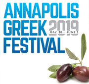 The 2019 Annapolis Greek Festival will be held on Thursday through Sunday May 30 - June 2, 2019 at Ss. Constantine and Helen Greek Orthodox Church on Riva Rd, Annapolis, MD. Enjoy live music and dancing, Greek food, and arts and crafts! Click here for details!